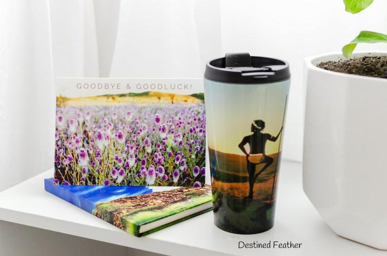 Pilbara Wildflower Goodbye Card, Australian Wildflower Farewell Card,  Farewell Greeting Card, Wildflower Goodbye Card, Landscape Bye Card