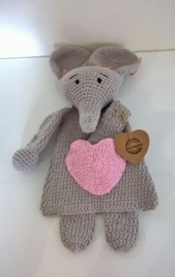 Free knitting pattern for Woollyphant flat elephant for applique ... | 902x570