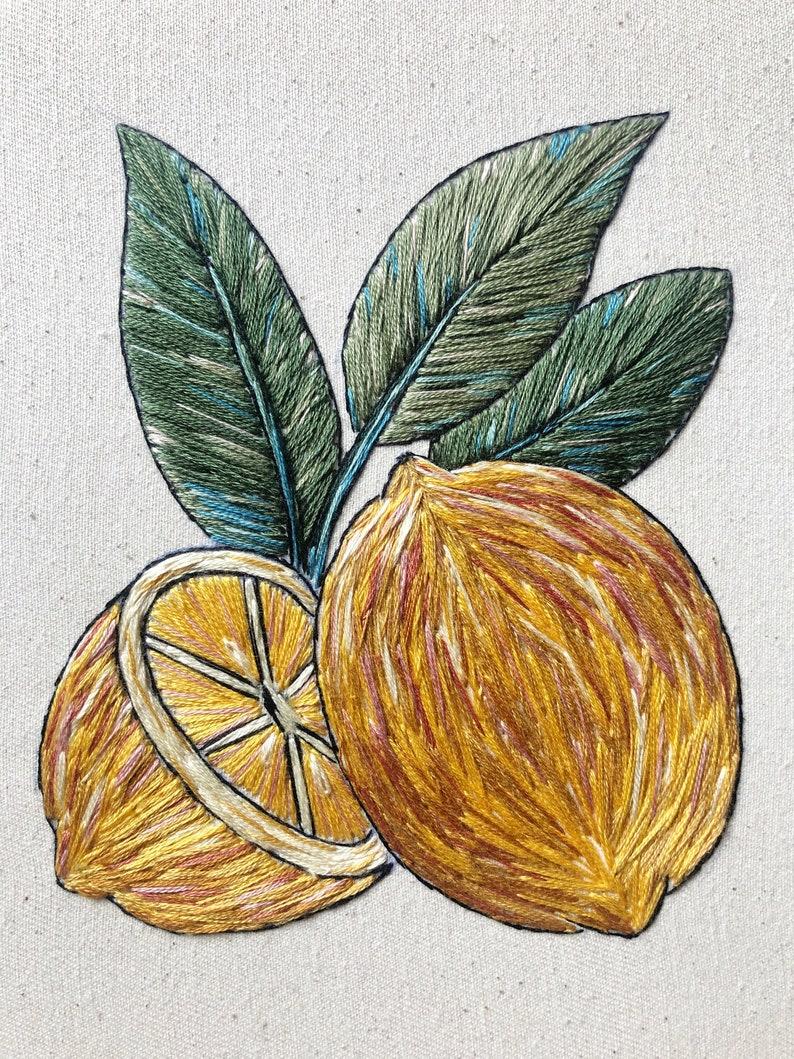 FRAMED Lemons