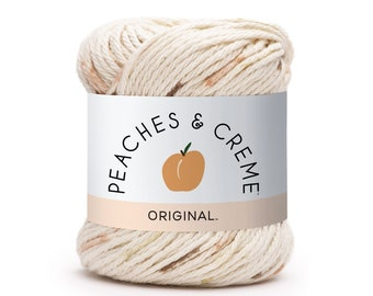 Peaches and Cream in Forest Green Cotton Yarn