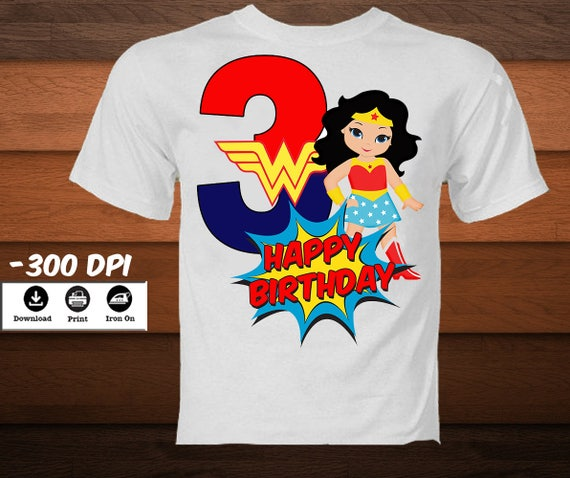 Printable Super Girl Iron On Transfer Shirt Personalized