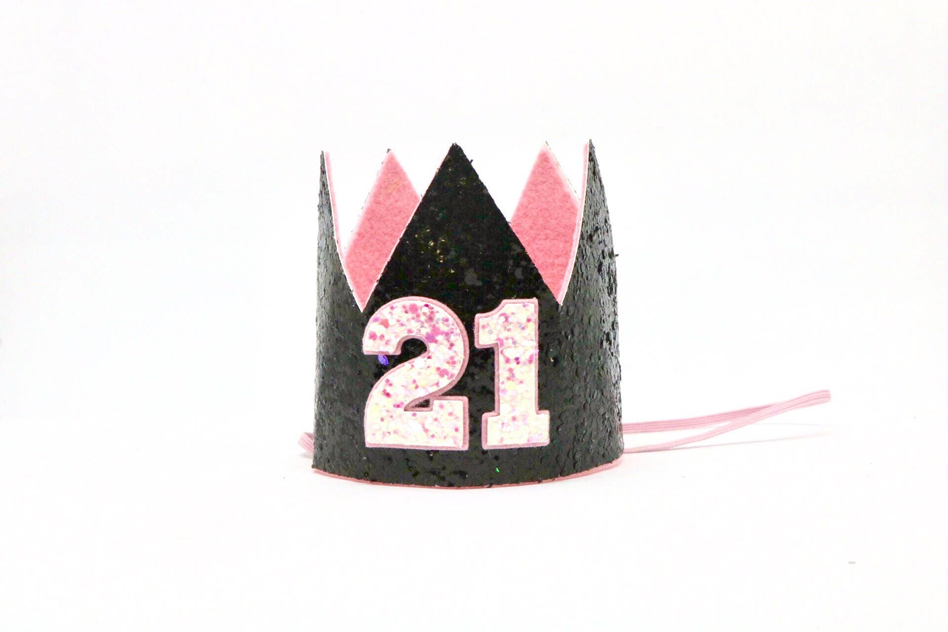 21st Birthday Crown Hat Party