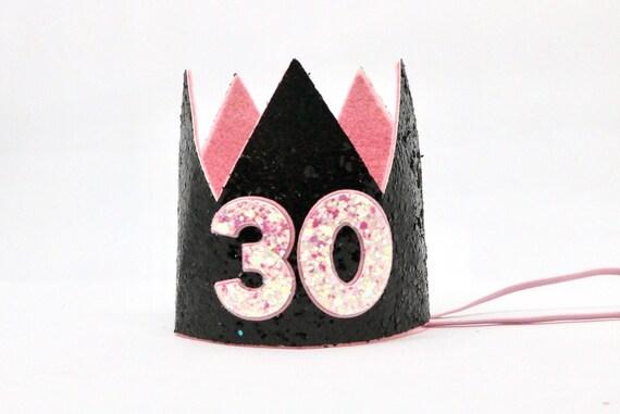 30th Birthday Crown Dirty Thirty Hat
