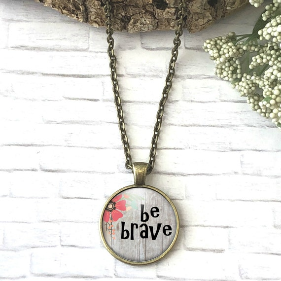 Be Brave Planner Bookmark Motivating Gift Be Strong Be Humble Charm Paperclip Bookmark Bookmark Gift Encouragement Gift