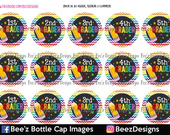 Pre Cut One Inch Bottle Cap Images Sports Ball Mix   Free Ship