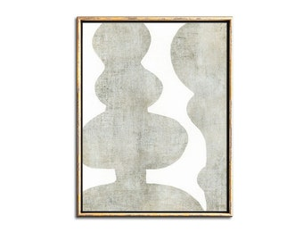 Gray Abstract Art Printable Digital Download, Gray Painting Contemporary Printable Art, Abstract Bedroom Art Download