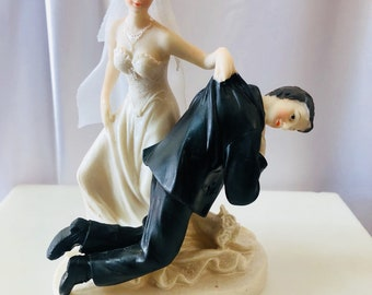 funny wedding cake toppers pictures wedding cake toppers etsy 14604