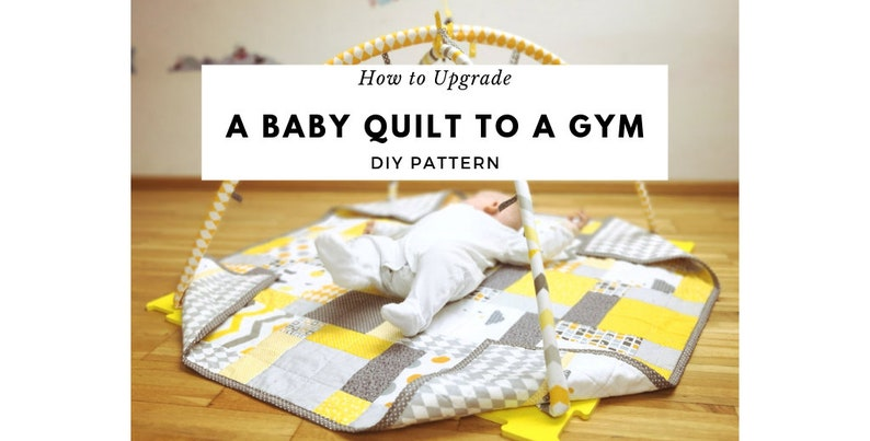 Modern Quilt Pattern and Baby Gym Pattern 2 in 1 product image 0