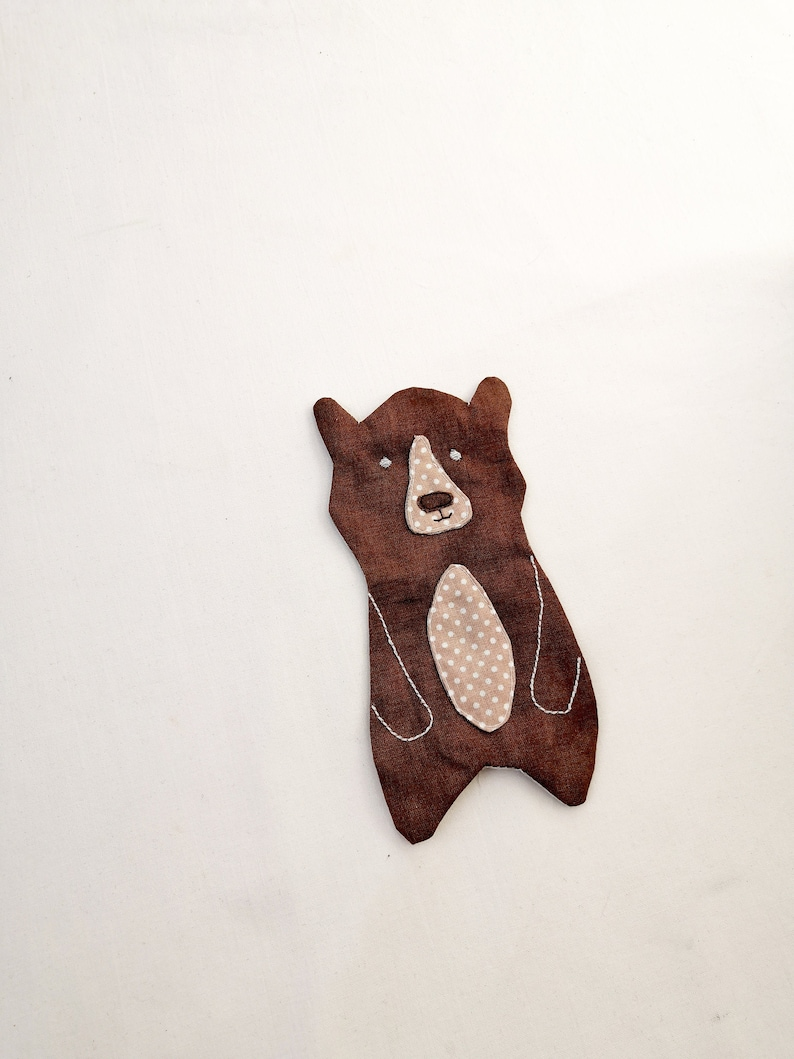 Bear applique pattern instant download PDF 4 sizes. Includes image 0