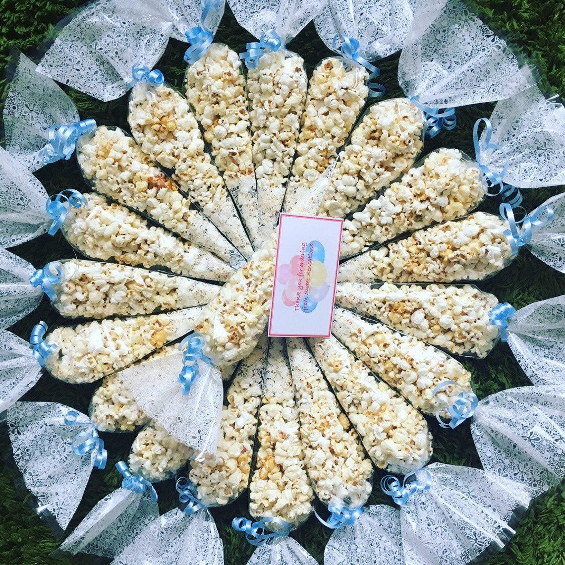 Personalised popcorn