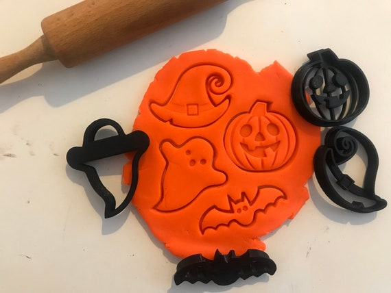 Spooky Halloween Cookie Cutters - Set di 4