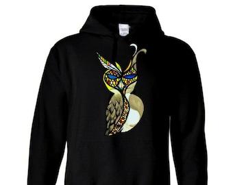 Owl's Raven Hoodie