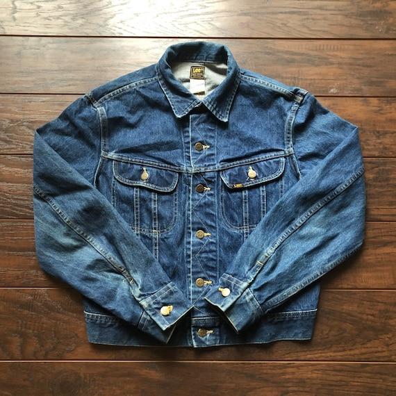 70's Vintage Western Lee Riders Denim Jacket