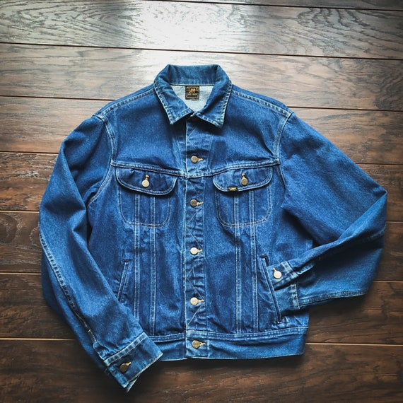 70's/80's Vintage Western Lee Riders Denim Jacket