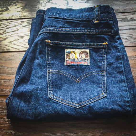 80's Vintage Women's Levi's High Waisted Jeans | T