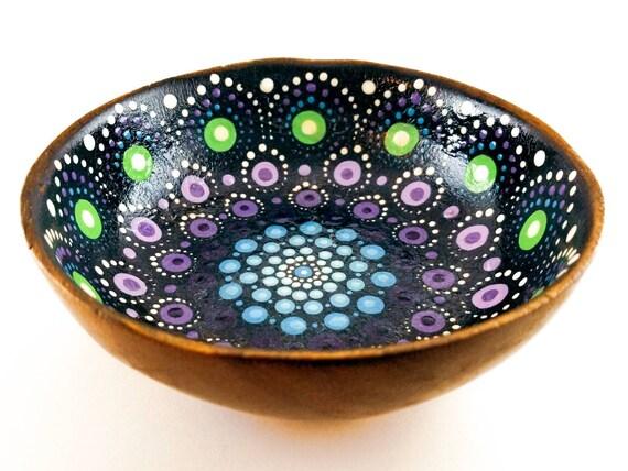 Spirit Jewel Drop Mandala Bowl