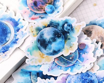 Space Stickers Etsy