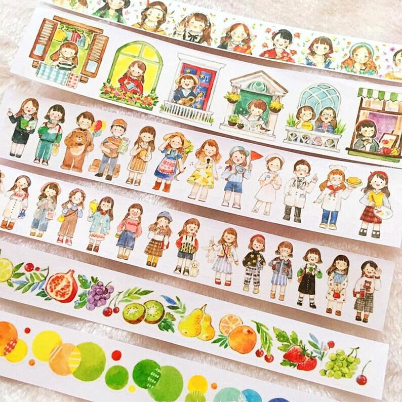 100cm Girl washi  sample