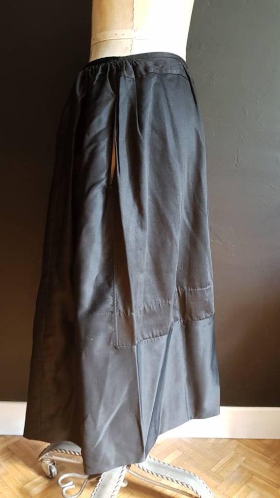 Vintage French black skirt Breton traditional cos… - image 10