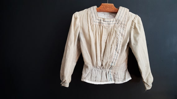 Antique French blouse Early 1900s