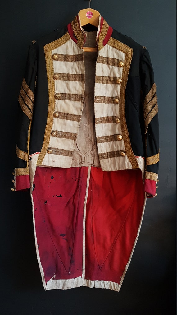 Antique French Theatre costume Napoleonic army mil