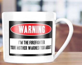 Warning: Fireman SVG, dxf, & eps - Fun Christmas gift, Fireman gift, cup shirt home decor, pillow, apron and more wall art