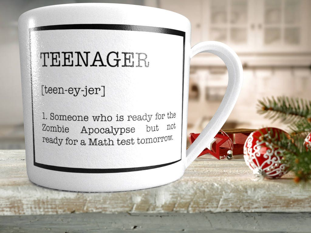 Teenager dictionary dxf eps svg Christmas gift birthday | Etsy