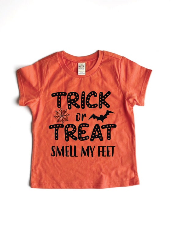 TeeStars Trick or Treat Smell My Feet Funny Halloween Toddler Hoodie 5//6 Gray