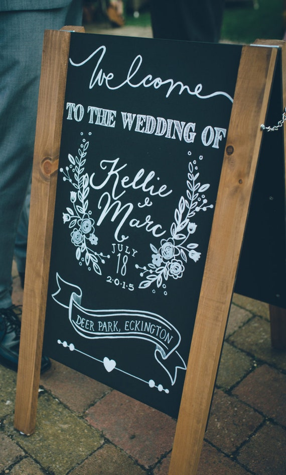 Chalkboard Style Rules Of The Dancefloor Vintage Chalk Sketch Collection Personalised Printed Card Wedding Sign