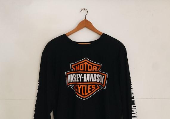 Vintage Harley Davidson long sleeve shirt