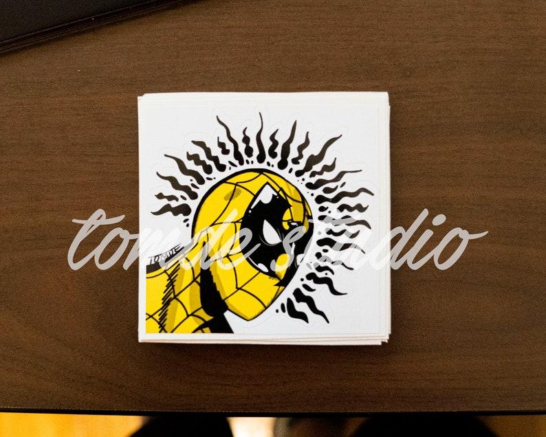 Wu-Man Sticker  Spiderman x Wu Tang Clan by Tomde  Original image 1