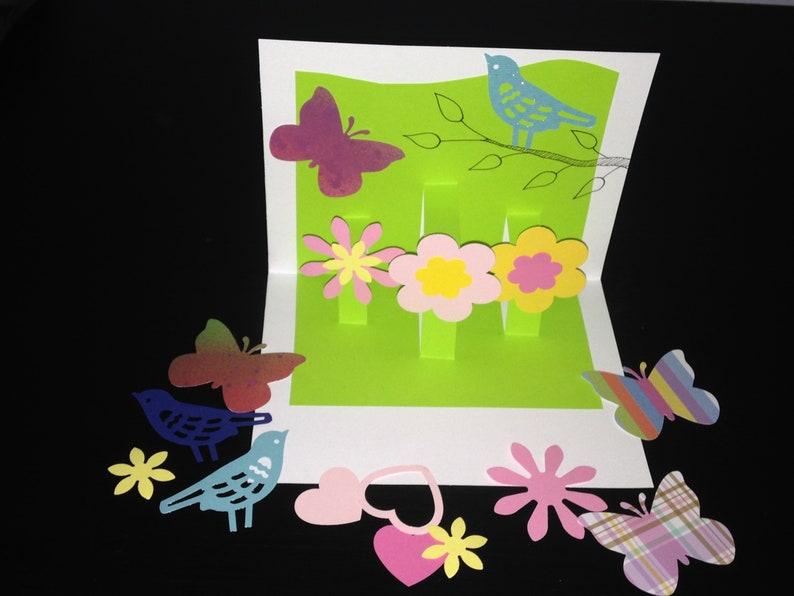 Greeting Card Kit 8 Cards Kids Crafts Kids Craft Kitdiy Etsy