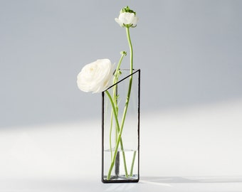 Glass Terrarium - Hydroponics Gardening / Handmade Planter/ Display Box / Design Glass Vase