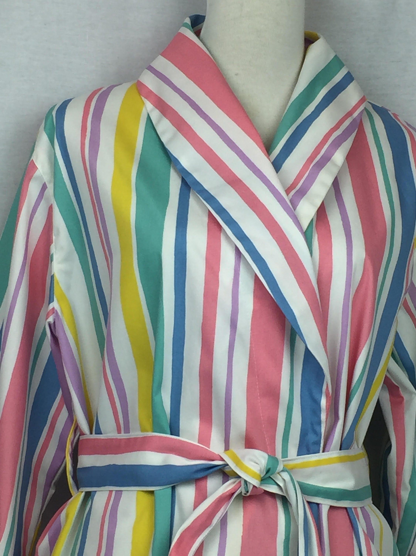 1c9a0e92b8 Shawl collared Dressing gown bathrobe in 100% cotton sateen in Fawn ...