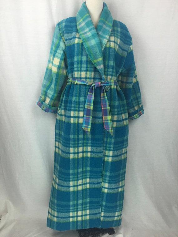 2c24f3b7c3 Wool Robe or Dressing gown repurposed from vintage Australian