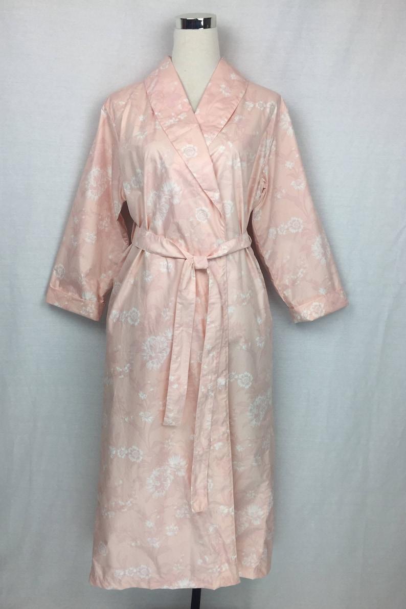 aec41405b9 Shawl collared Dressing gown bathrobe in 100% cotton sateen in