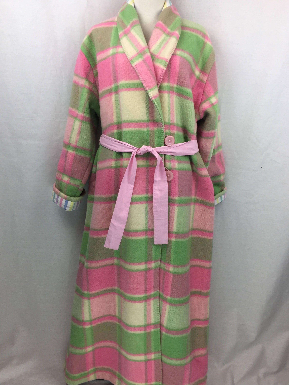Wool Robe or Dressing gown repurposed from vintage Australian wool ...