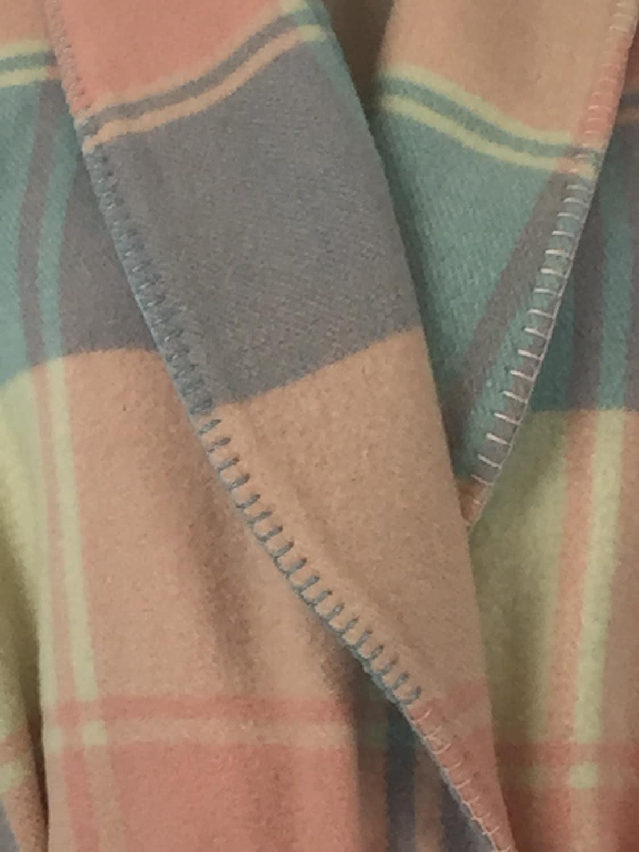 Wool Robe Or Dressing Gown Repurposed From Vintage Australian Wool