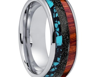 Custom Designed for Ashly Vanegas Ring #2 (8mm Band as described in this ad)   2222
