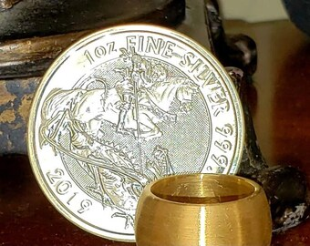 1oz Fine Silver Coin, .9999 PURE Silver Coin, Metal Plating Available.