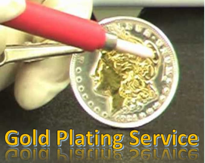 PRECIOUS METAL PLATING Services (New Plating or Refinish of a faded piece of jewelry)  Make your Jewelry New Again!