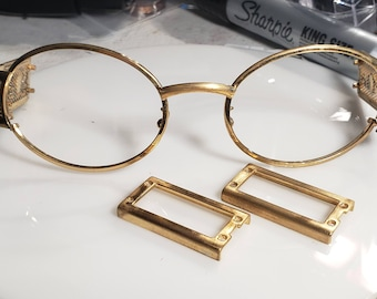 CUSTOMIZED SERVICE:  Gold Plating of Glass frames for Michael 2