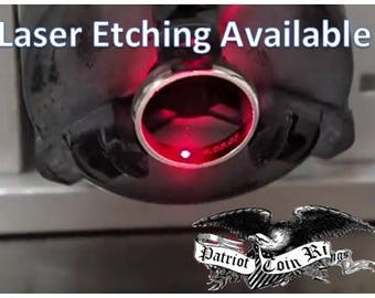 Etching & Engraving Services Available (Your Ring or Ours - Same Discount Price)  Wedding Bands, Engagement Rings, Promise Rings, Dates...
