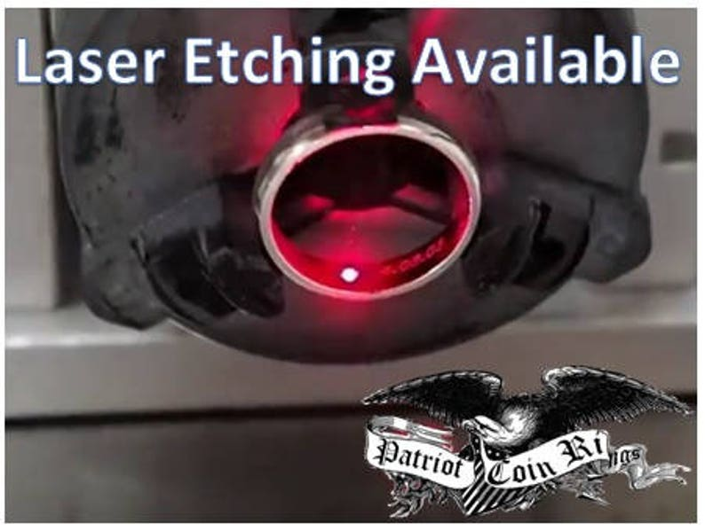 Etching & Engraving Services Available Your Ring or Ours  image 0