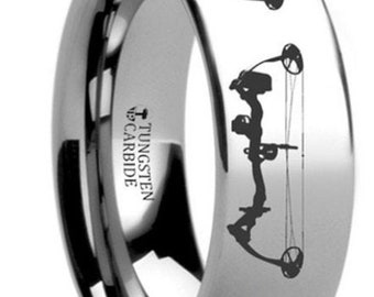 Custom Designed for Brittney McPherson (8mm Fisherman and Bow Hunters Band as described in this ad)