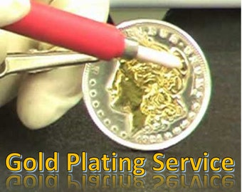 PRECIOUS METAL PLATING Services, New Plating, Refinish of a faded piece of jewelry, Make your Jewelry New Again.