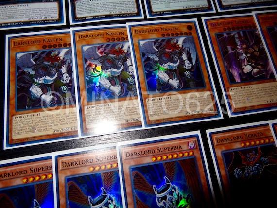 Yugioh Custom Designed Darklord Deck!