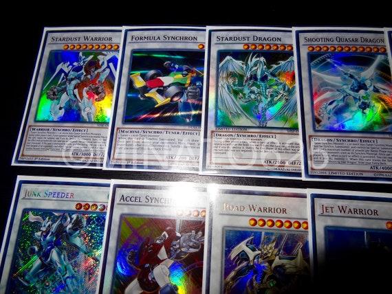 All Foils: Jet Synchron Stardust Warrior Accel Synch Jet Warrior Scrap Fist