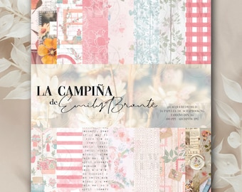 SCRAPBOOKING COLLECTION The   Decorated print papers for scrapbooking, cardjeteria, project Life, crafts, card making..