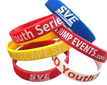75 Personalised Fabric Wristbands Your wristband//your design